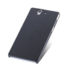 Coque Plastique Rigide Mat pour Sony Xperia Z L36h Noir