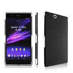 Coque Plastique Rigide Mat pour Sony Xperia Z Ultra XL39h Noir