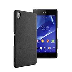 Coque Plastique Rigide Mat pour Sony Xperia Z2 Noir
