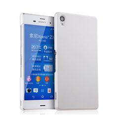 Coque Plastique Rigide Mat pour Sony Xperia Z3 Blanc