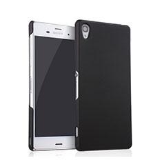 Coque Plastique Rigide Mat pour Sony Xperia Z3 Noir
