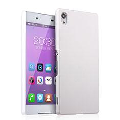 Coque Plastique Rigide Mat pour Sony Xperia Z3+ Plus Blanc