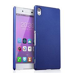 Coque Plastique Rigide Mat pour Sony Xperia Z3+ Plus Bleu