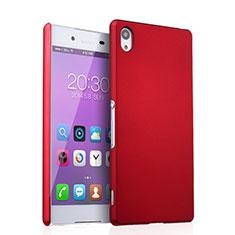 Coque Plastique Rigide Mat pour Sony Xperia Z3+ Plus Rouge