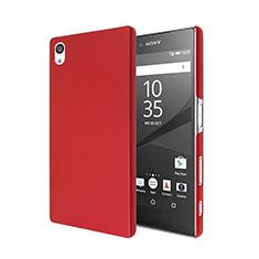 Coque Plastique Rigide Mat pour Sony Xperia Z5 Rouge