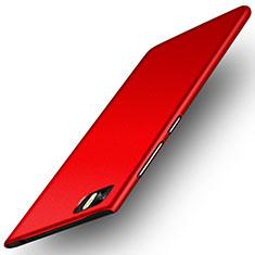 Coque Plastique Rigide Mat pour Xiaomi Mi 3 Rouge