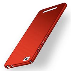 Coque Plastique Rigide Mat pour Xiaomi Mi 4C Rouge