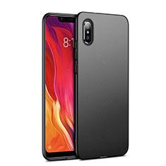 Coque Plastique Rigide Mat pour Xiaomi Mi 8 Explorer Noir