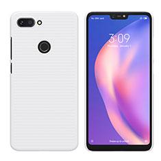 Coque Plastique Rigide Mat pour Xiaomi Mi 8 Lite Blanc