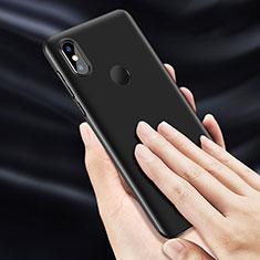 Coque Plastique Rigide Mat pour Xiaomi Mi Mix 3 Noir