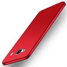 Coque Plastique Rigide Mat pour Xiaomi Redmi 2 Rouge
