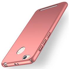 Coque Plastique Rigide Mat pour Xiaomi Redmi 3 High Edition Or Rose