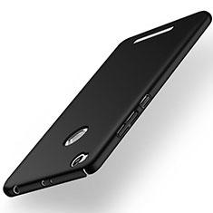 Coque Plastique Rigide Mat pour Xiaomi Redmi 3 Pro Noir