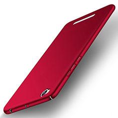 Coque Plastique Rigide Mat pour Xiaomi Redmi 3 Rouge