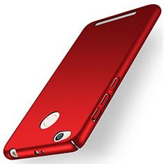 Coque Plastique Rigide Mat pour Xiaomi Redmi 3X Rouge