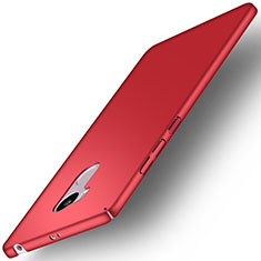 Coque Plastique Rigide Mat pour Xiaomi Redmi 4 Prime High Edition Rouge