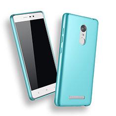 Coque Plastique Rigide Mat pour Xiaomi Redmi Note 3 MediaTek Bleu Ciel