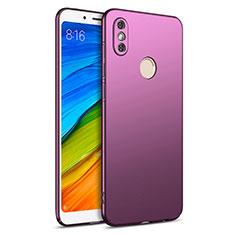 Coque Plastique Rigide Mat pour Xiaomi Redmi Note 5 AI Dual Camera Violet