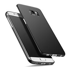 Coque Plastique Rigide Mat Q02 pour Samsung Galaxy S6 Edge+ Plus SM-G928F Noir
