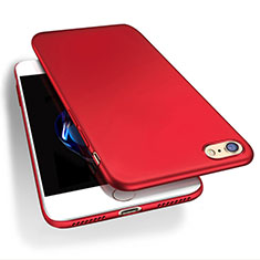 Coque Plastique Rigide Mat Q03 pour Apple iPhone 8 Rouge