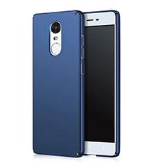 Coque Plastique Rigide Mat Q03 pour Xiaomi Redmi Note 4 Standard Edition Bleu
