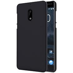 Coque Plastique Rigide Mat R01 pour Nokia 6 Noir