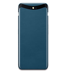 Coque Plastique Rigide Mat Serge pour Oppo Find X Bleu