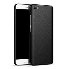 Coque Plastique Rigide Mat Serge pour Xiaomi Mi 5 Noir