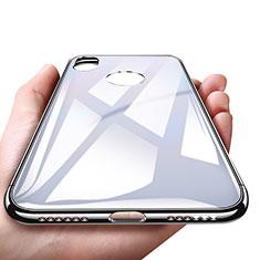 Coque Plastique Rigide Miroir pour Apple iPhone Xs Blanc