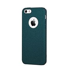 Coque Plastique Rigide Sables Mouvants pour Apple iPhone SE Bleu
