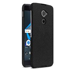 Coque Plastique Rigide Sables Mouvants pour Blackberry DTEK60 Noir