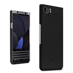 Coque Plastique Rigide Sables Mouvants pour Blackberry KEYone Noir