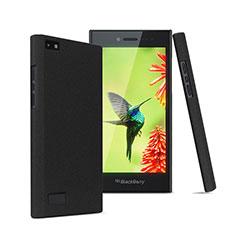 Coque Plastique Rigide Sables Mouvants pour Blackberry Leap Noir