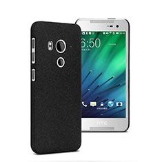 Coque Plastique Rigide Sables Mouvants pour HTC Butterfly 3 Noir