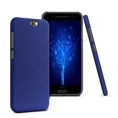 Coque Plastique Rigide Sables Mouvants pour HTC One A9 Bleu