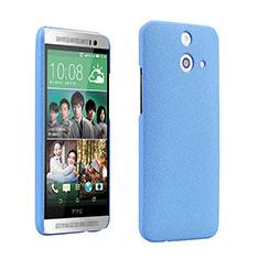 Coque Plastique Rigide Sables Mouvants pour HTC One E8 Bleu