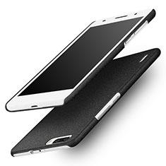 Coque Plastique Rigide Sables Mouvants pour Huawei Honor 6 Plus Noir