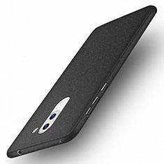 Coque Plastique Rigide Sables Mouvants pour Huawei Honor 6X Pro Noir