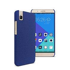 Coque Plastique Rigide Sables Mouvants pour Huawei Honor 7i shot X Bleu
