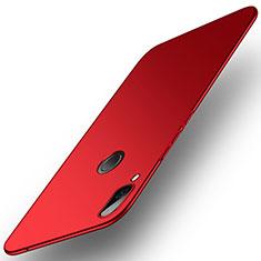 Coque Plastique Rigide Sables Mouvants pour Huawei Honor Play Rouge
