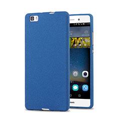 Coque Plastique Rigide Sables Mouvants pour Huawei P8 Lite Bleu