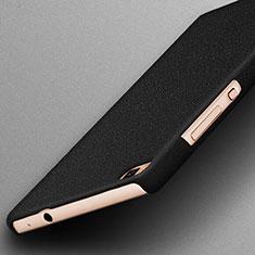 Coque Plastique Rigide Sables Mouvants pour Huawei P8 Noir
