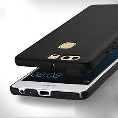 Coque Plastique Rigide Sables Mouvants pour Huawei P9 Plus Noir