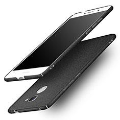 Coque Plastique Rigide Sables Mouvants pour Huawei Y7 Prime Noir