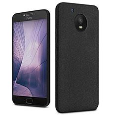 Coque Plastique Rigide Sables Mouvants pour Motorola Moto E4 Plus Noir