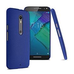 Coque Plastique Rigide Sables Mouvants pour Motorola Moto X Style Bleu
