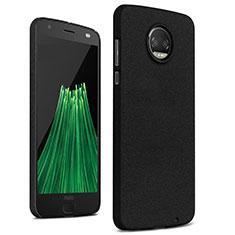 Coque Plastique Rigide Sables Mouvants pour Motorola Moto Z2 Force Noir