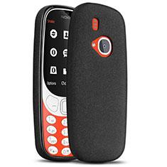 Coque Plastique Rigide Sables Mouvants pour Nokia 3310 (2017) Noir