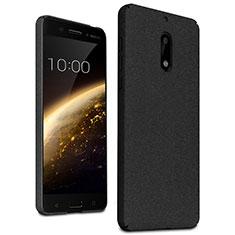 Coque Plastique Rigide Sables Mouvants pour Nokia 6 Noir