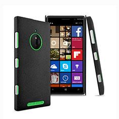 Coque Plastique Rigide Sables Mouvants pour Nokia Lumia 830 Noir